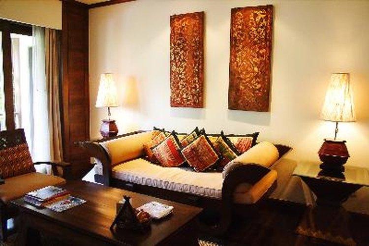 Elige el color de paredes para tu sala de estar.