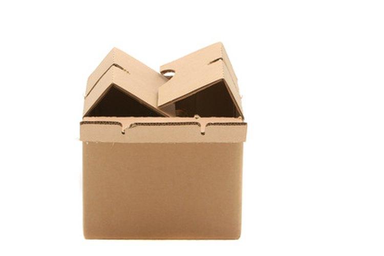 Usa una caja resistente.