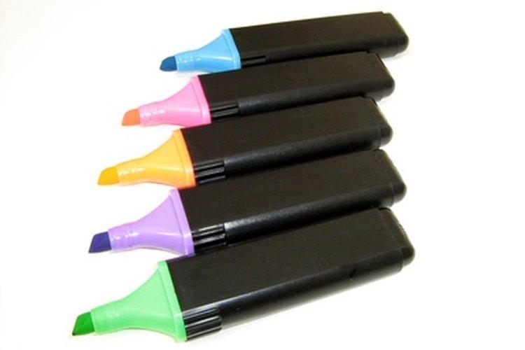El color es una herramienta increíble para la gente con un estilo de aprendizaje visual.