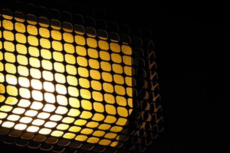 Eficacia de las bombillas amarillas para los insectos.