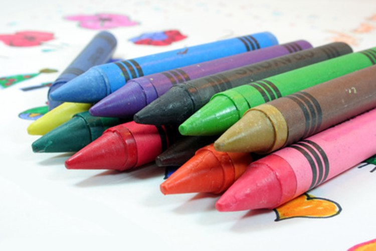 Ceras de colores.