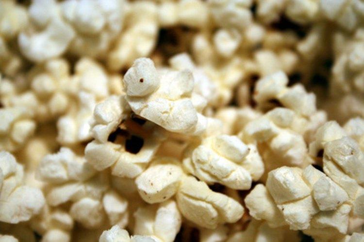 Palomitas de maíz.