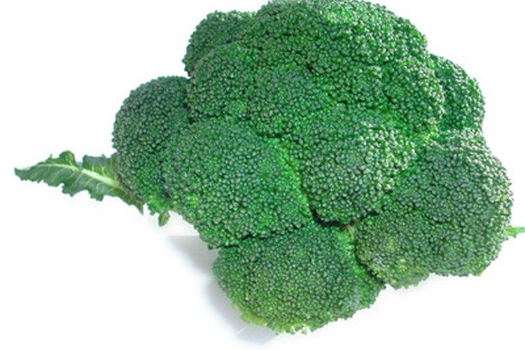 El brócoli es rico en vitaminas.