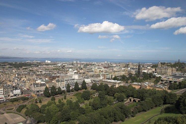 Paisaje urbano de Edimburgo.