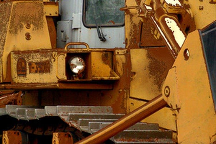 Las excavadoras empujan, jalan y cargan cosas, y pueden facilitar las cosas.