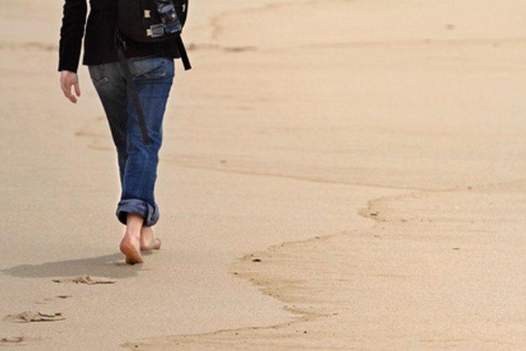 Una larga caminata ayuda a enfriarse y a lidiar con el conflicto.