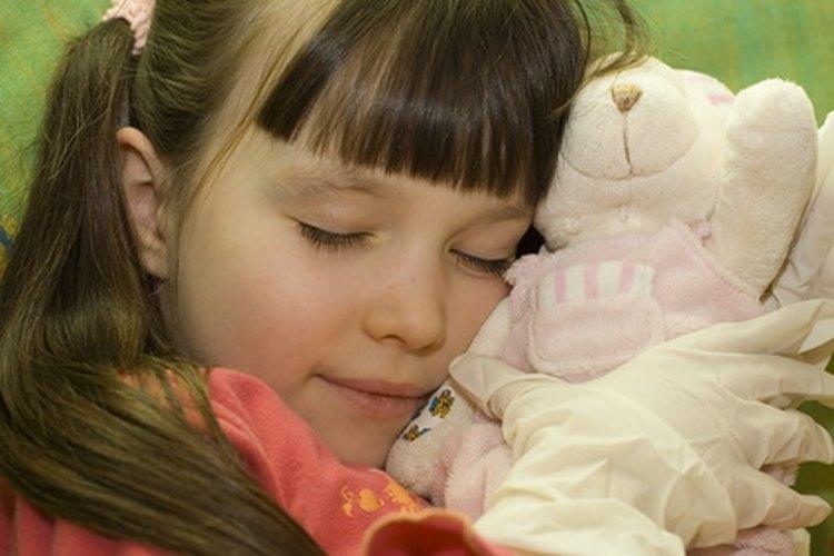 Establece la hora de la siesta para un niño de cinco años.
