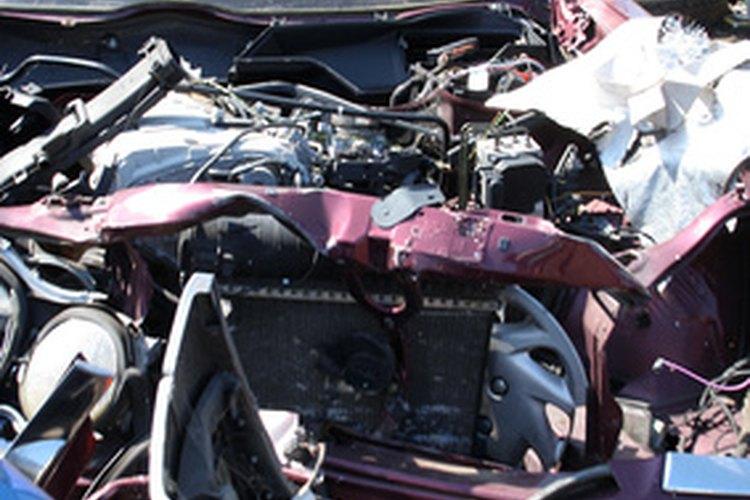 Los accidentes de transito habitualmente dan lugar a demandas judiciales.