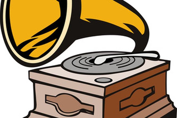 El Grammy fue nombrado así en honor a un gramófono (un reproductor de musica antiguo).