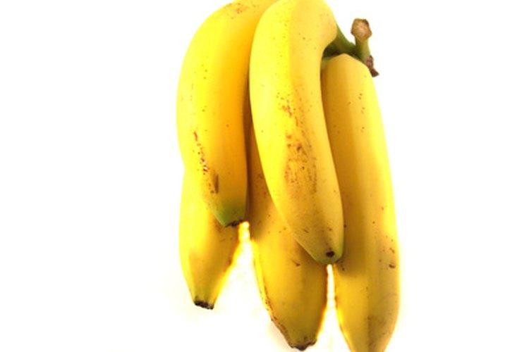 El plátano pisado puede ser utilizado para substituir el huevo.