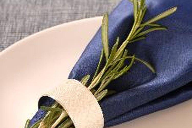El plegado de la servilleta puede convertirse en todo un arte
