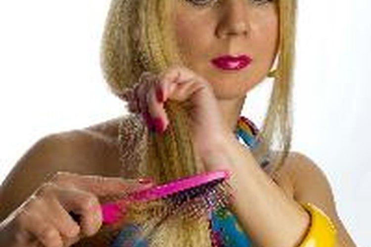 El cabello consiste principalmente de proteína y debe mantenerse fuerte.