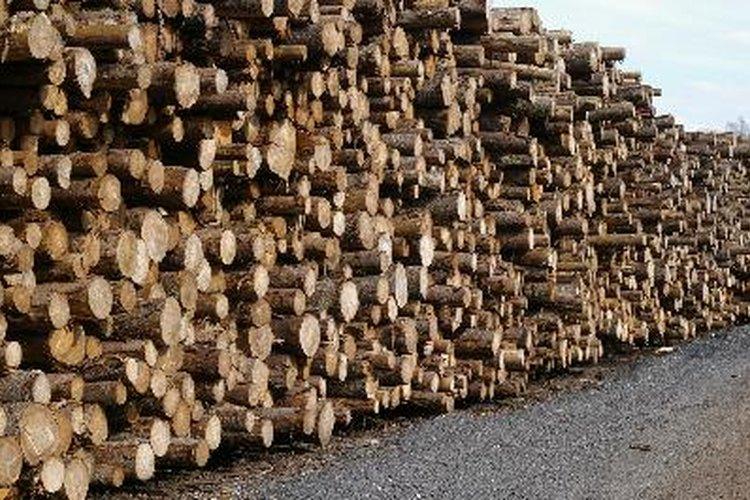 Depósito de madera MDF.
