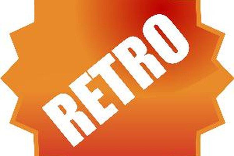 """Colores """"retro"""", como el anaranjado o el azul, son también una buena opción."""