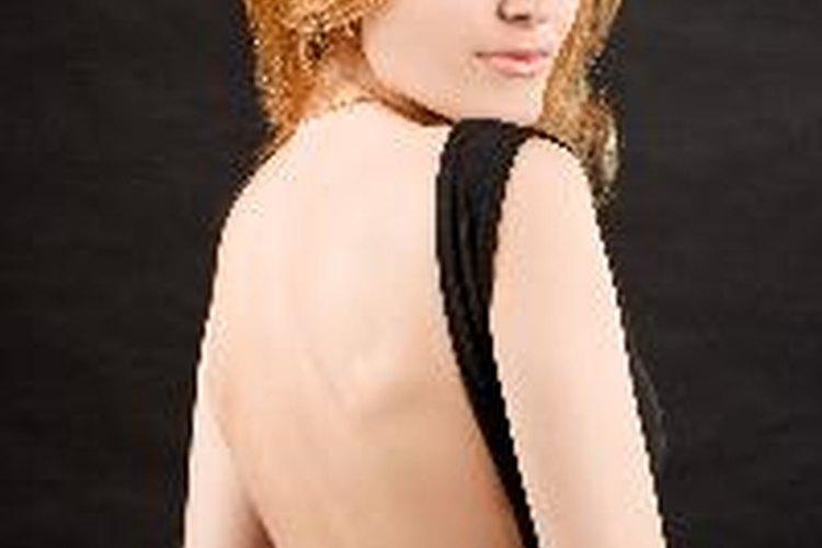 Soluciones de sostenes para vestidos sin espalda.