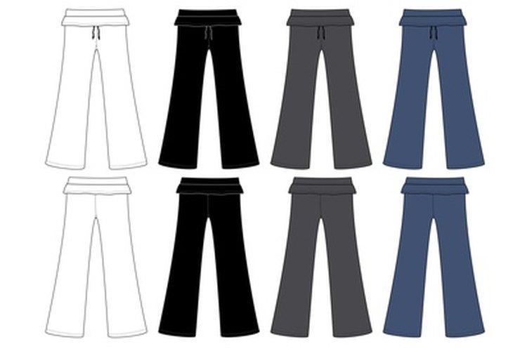 Elimina las arrugas de los pantalones para que nadie pueda darse cuenta de que fueron arreglados.