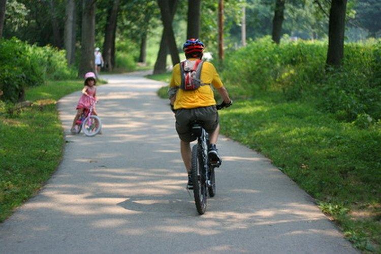 El ciclismo en Nueva Jersey es un buen ejercicio.