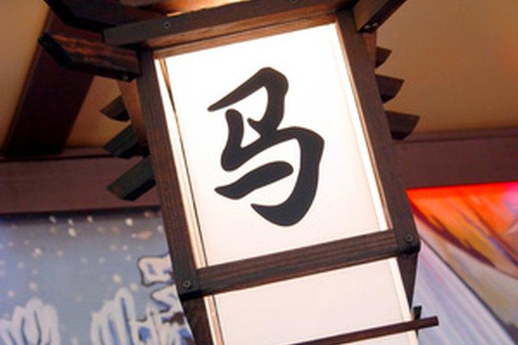 Los caracteres chinos son bellos y significativos.