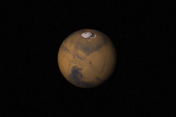 ¿Qué tamaño tiene Marte?