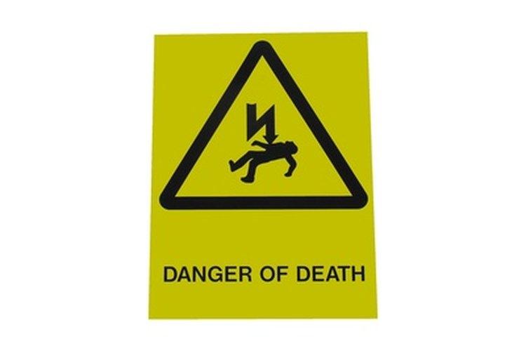 Los circuitos eléctricos con una buena puesta a tierra no son una amenaza para la vida ni para la propiedad.