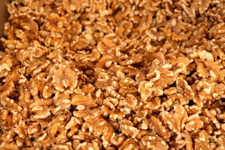 Las nueces pueden ponerse rancias rápidamente una vez que les has quitado las cáscaras.