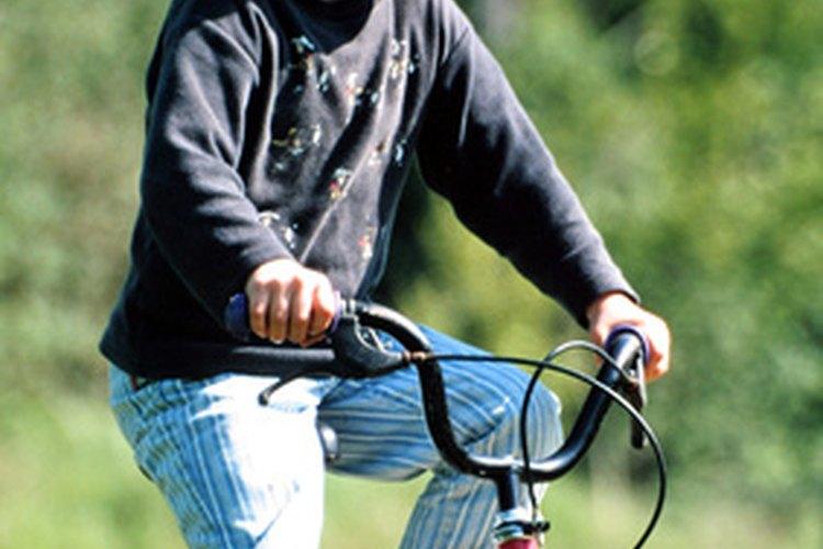 Las bicicletas de los niños se miden según el diámetro de la rueda.