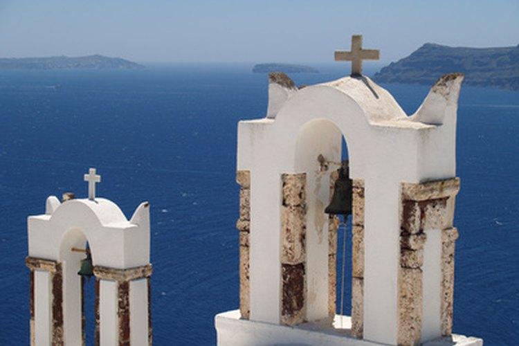 La iglesia ortodoxa griega continúa la tradición de tocar campanas complejas.