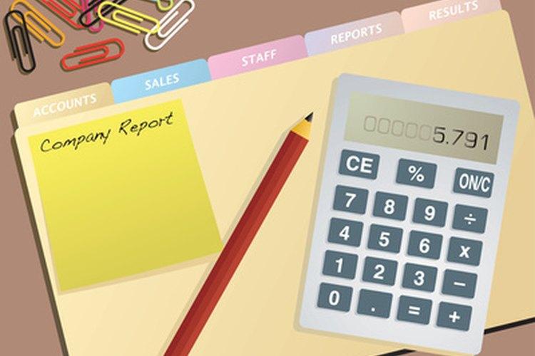 Muchos contadores supervisan los registros financieros de una empresa.