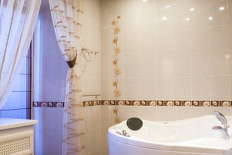 Los baños requieren diferentes materiales que otras habitaciones.