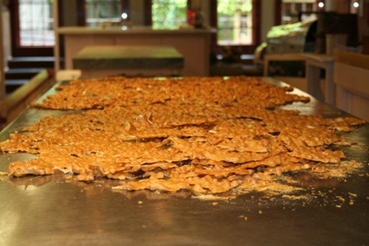 Las palanquetas de cacahuate son un producto popular.