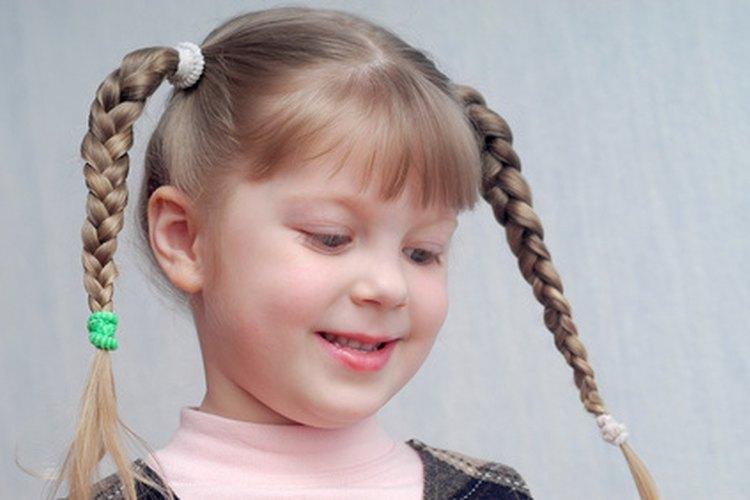 El cabello de los niños necesita cuidados especiales, particularmente si es demasiado seco.