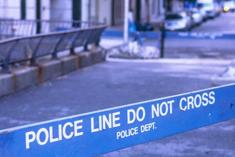 El método de punto a punto asegura la integridad de las pruebas en el escenario de un crimen.
