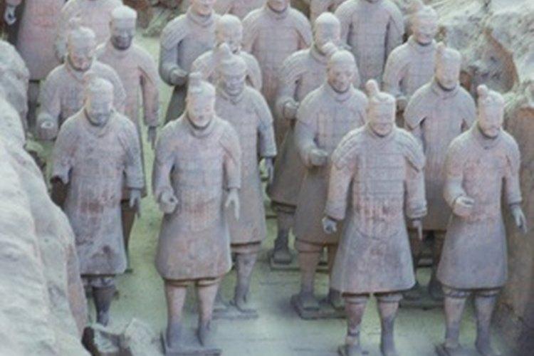 Los guerreros fueron construidos para servir al emperador muerto.