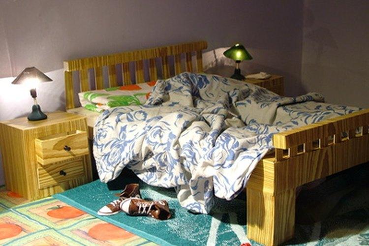 Decora una habitación de adolescente con cosas hechas en casa.
