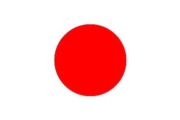 Bandera japonesa.