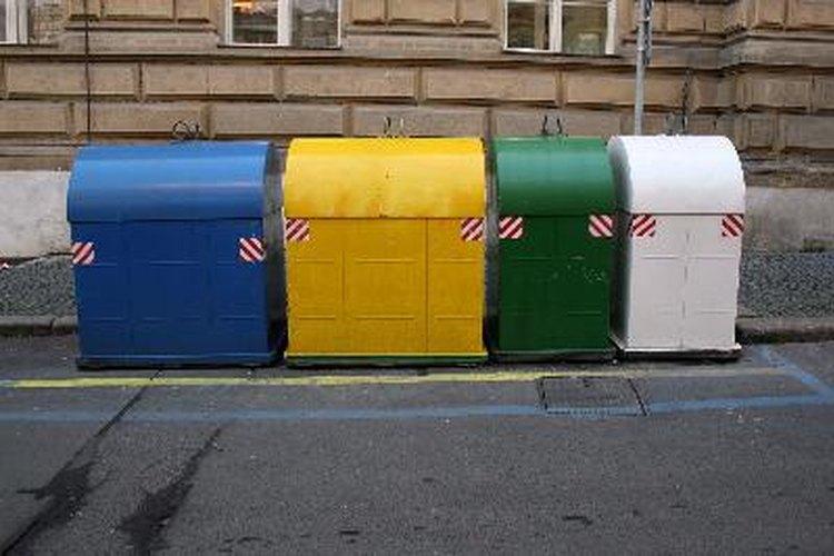 La basura tóxica se elimina de una manera especial.