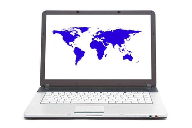 La tecnología de mapas en línea facilita el cálculo de distancias.