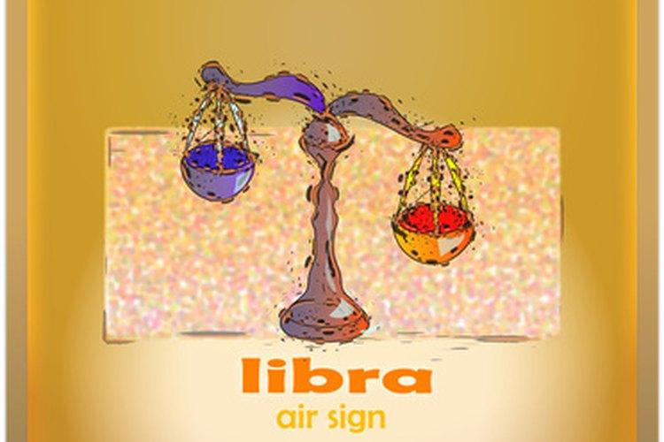 Las balanzas de Libra representan el balance de dos opciones opuestas.