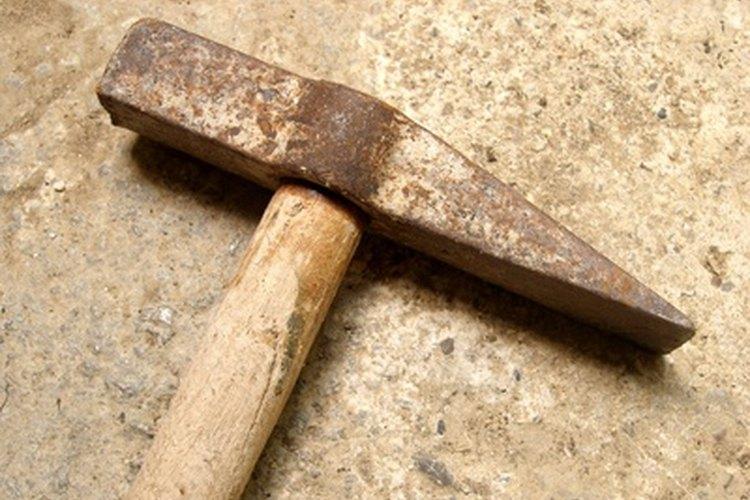 Un martillo para geología.