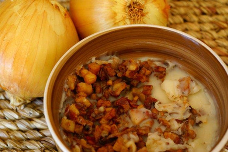 La manteca es una grasa tradicional para cocinar.