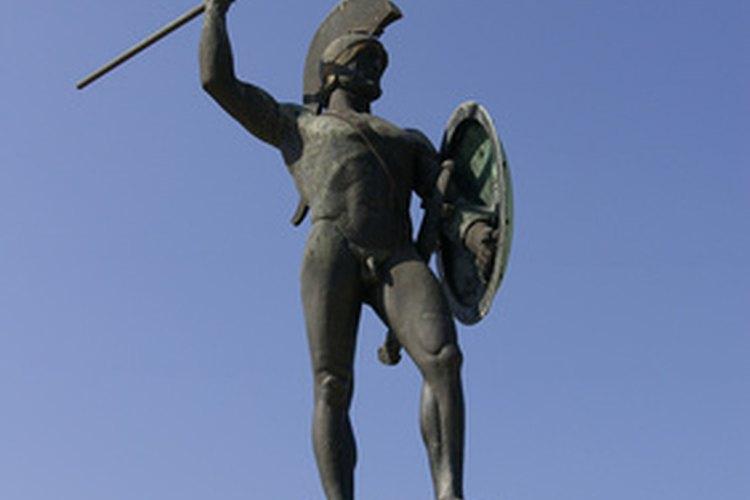 Guerrero espartano.