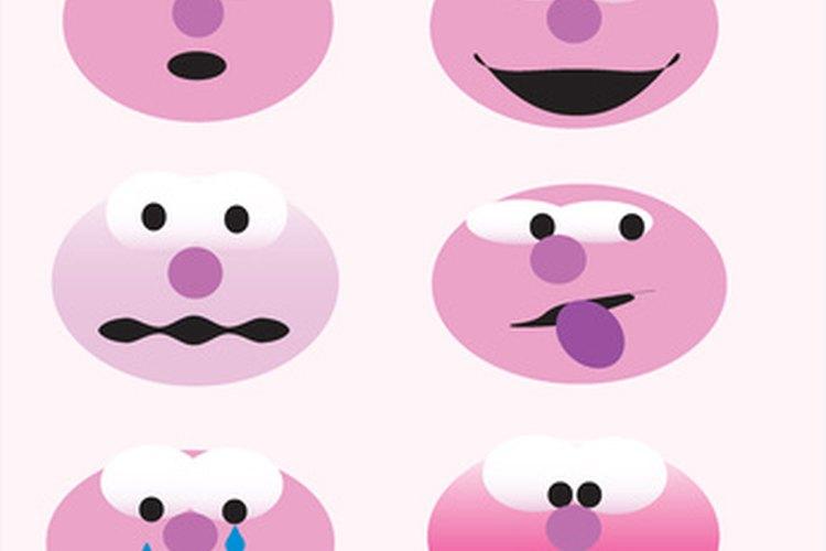Los esquemas de sentimientos ayudan a los niños pequeños a identificar y expresar sus sentimientos.