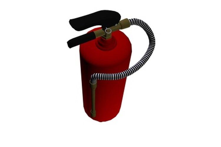 Un extintor caducado debe ser desechado de manera adecuada.