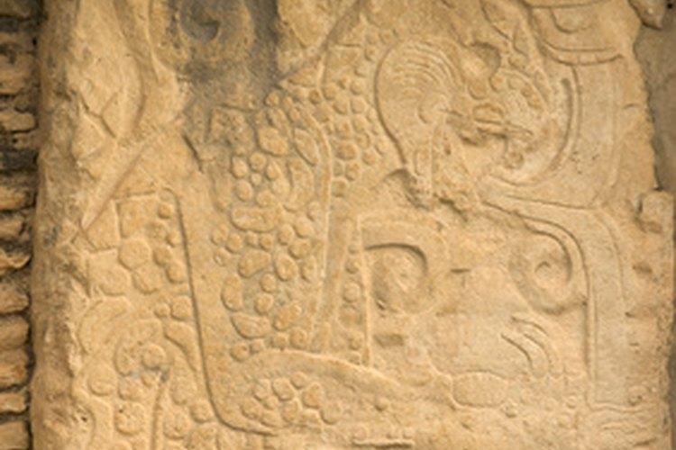 Los mayas inventaron un complejo sistema de escritura.