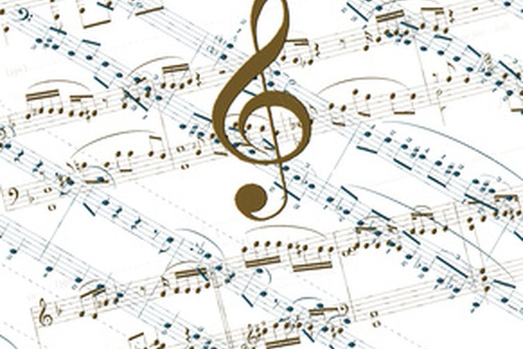 Notas musicales.