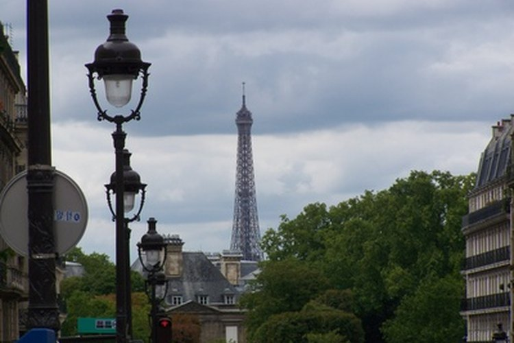 Un casamiento en París puede ser muy romántico.