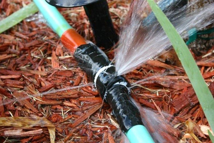 Las mangueras se pueden reparar.