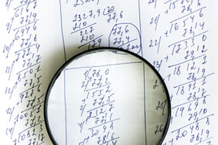 Las hojas de cálculo iniciaron su vida en papel.