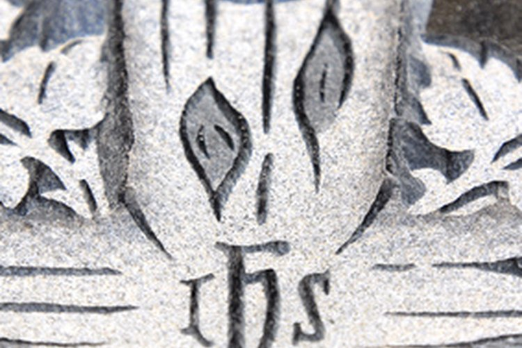 Un ejemplo de la inscripción de IHS.