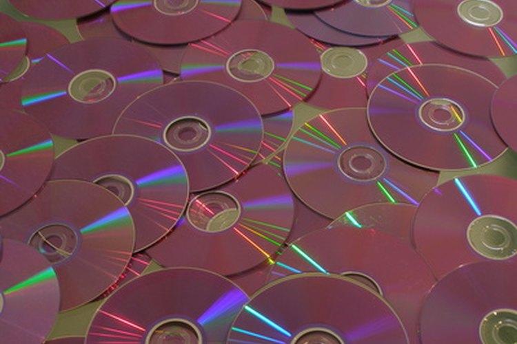 Los CDs funcionan muy bien para las decoraciones.